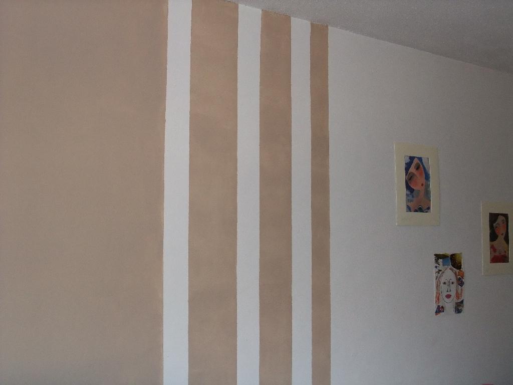 Deco peinture avec bande