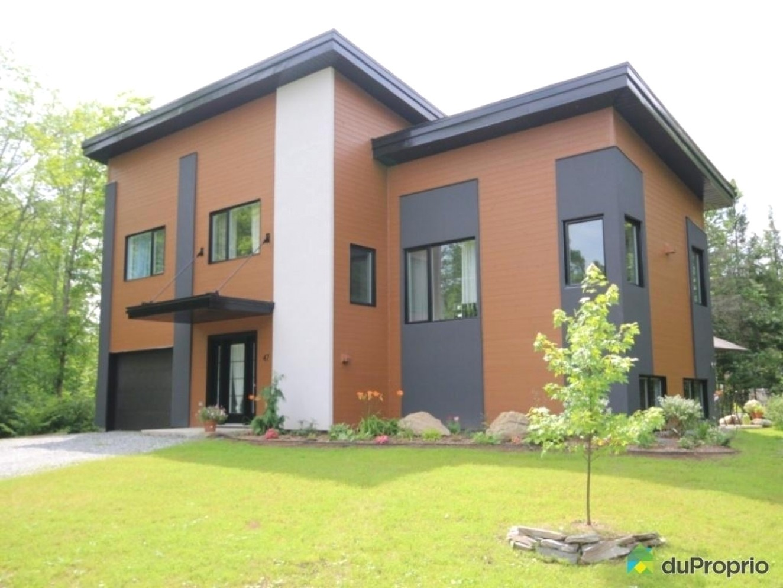 Peinture maison exterieur moderne