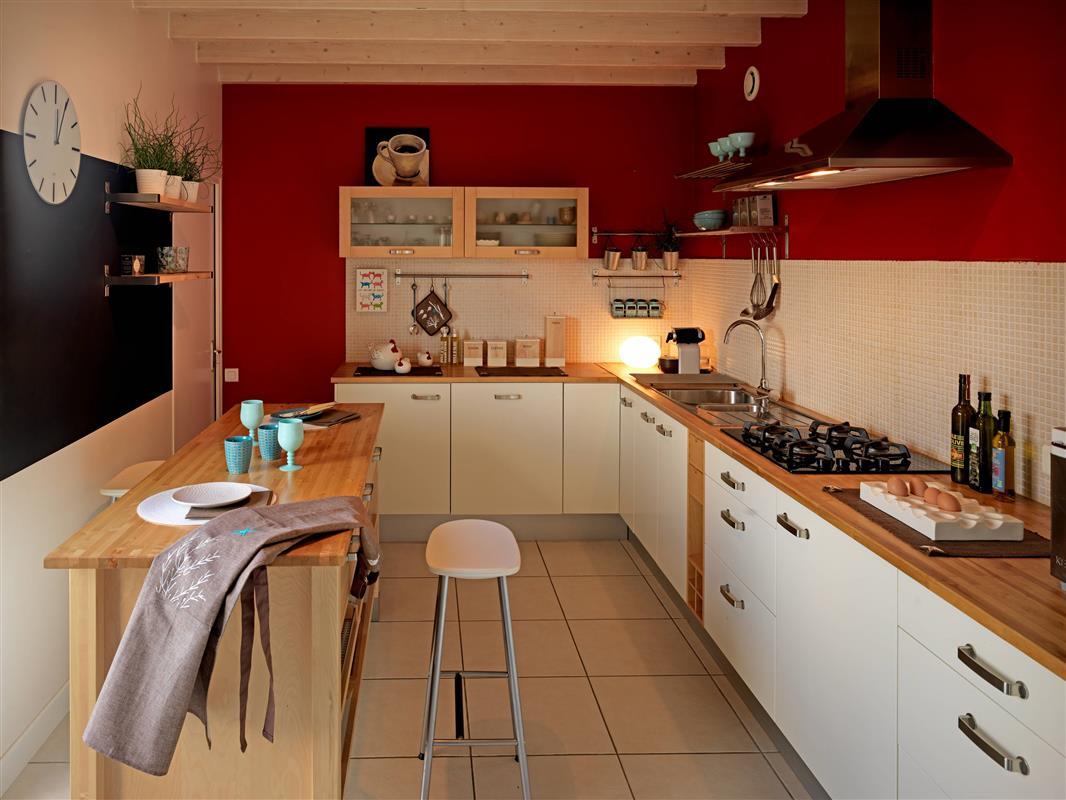 Peinture blanche pour meuble cuisine