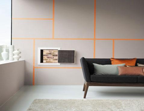Déco+peinture+bande horizontale