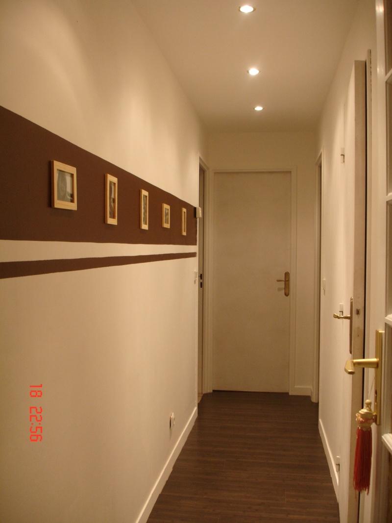 Peinture decoration couloir - Livreetvin.fr