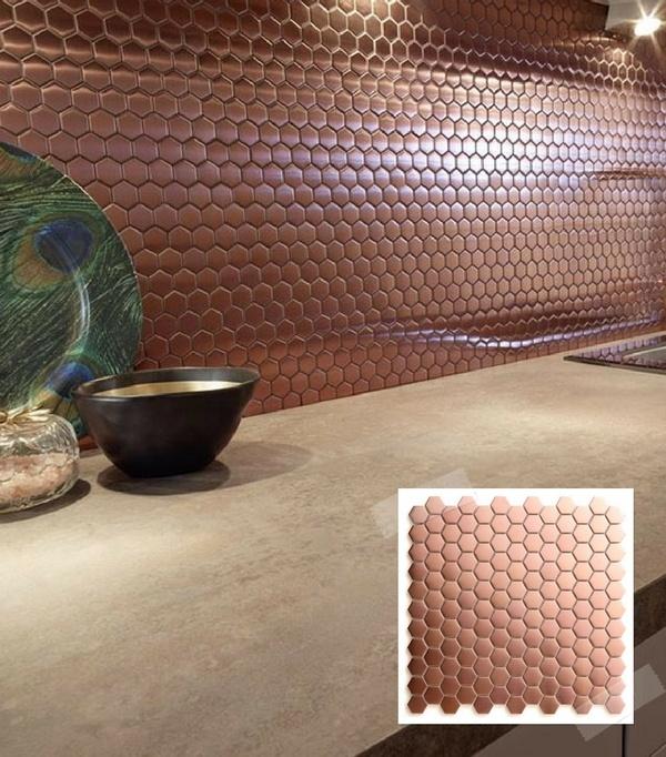 Peindre une hotte de cuisine en cuivre