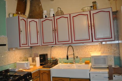 Peinture ivoire pour cuisine