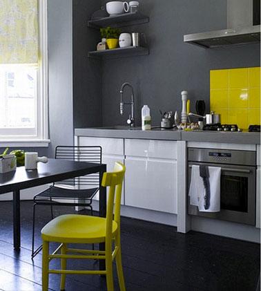 Peinture de cuisine grise