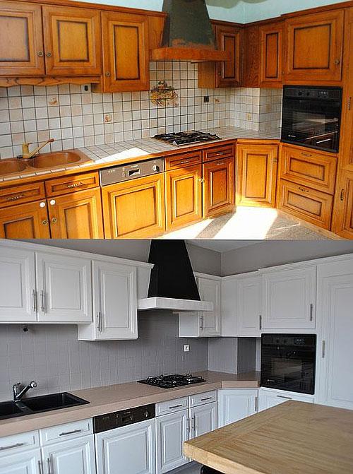 Quelle peinture pour meuble de cuisine en chene