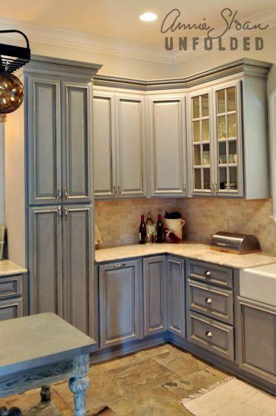 Peinture craie armoire cuisine