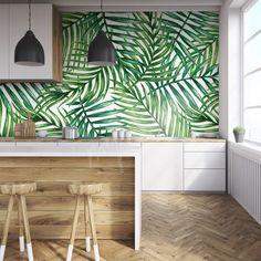Cuisine peinture ou tapisserie
