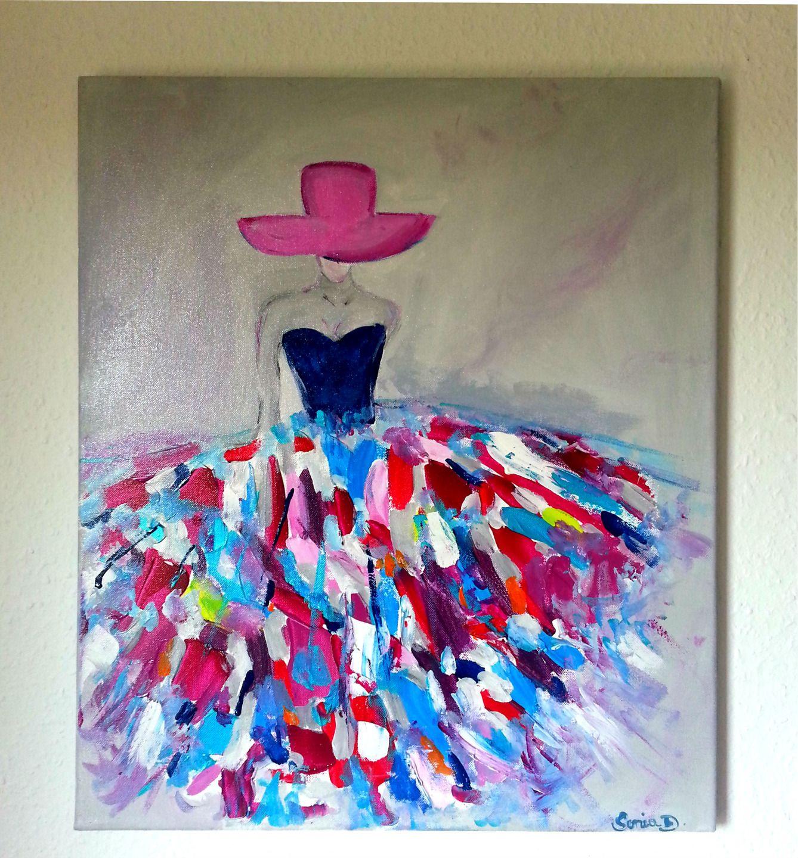 Achat peinture acrylique sur toile