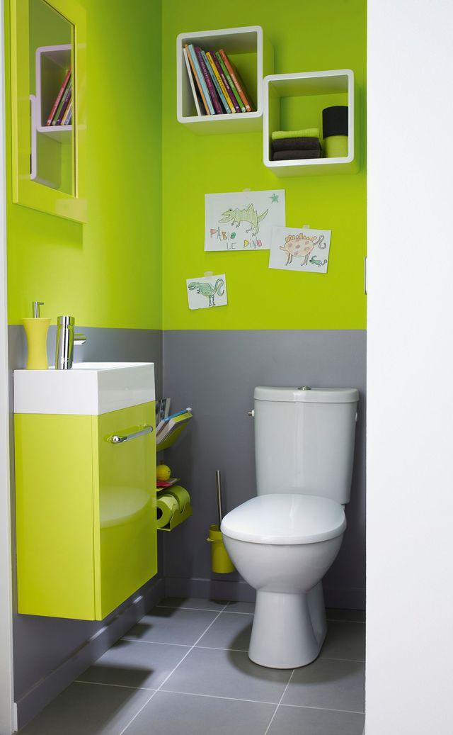 Peinture decoration wc