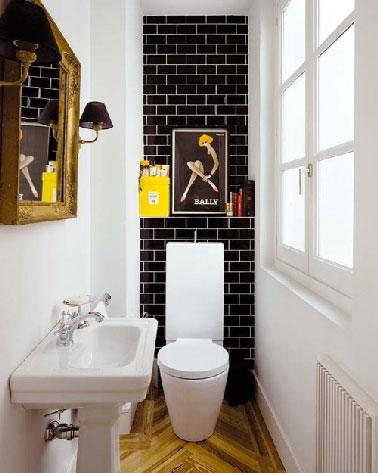 Peinture carrelage wc