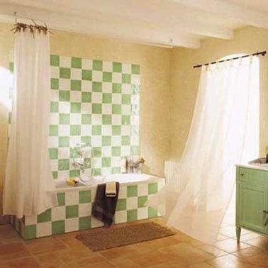 Peinture revetement carrelage salle de bain