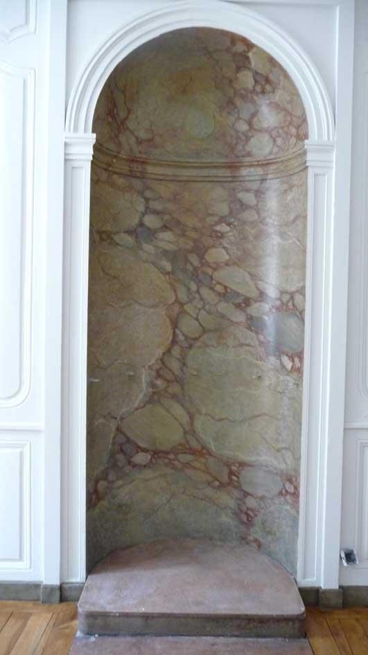 Decoration peinture faux marbre