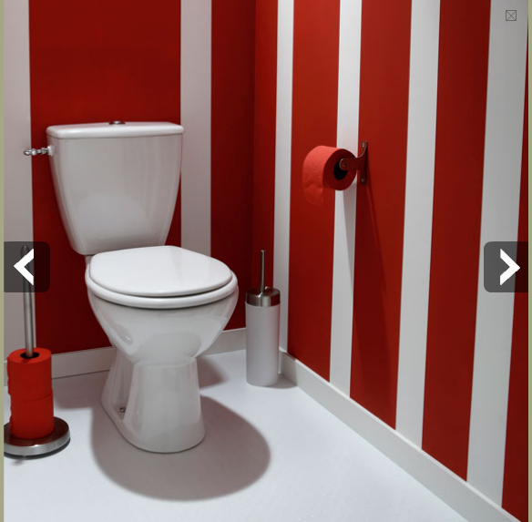 Peinture deco toilette