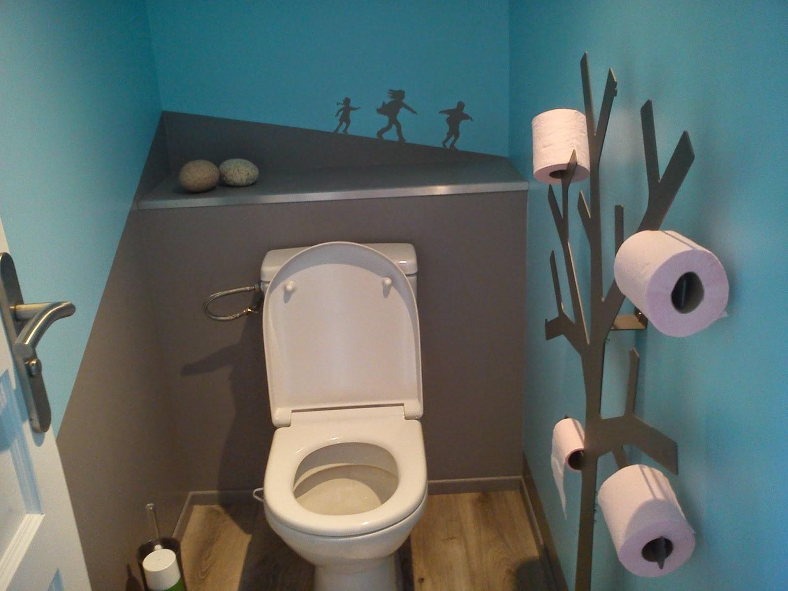 Peinture deco pour wc
