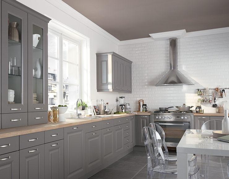 Peindre ses meubles de cuisine en gris
