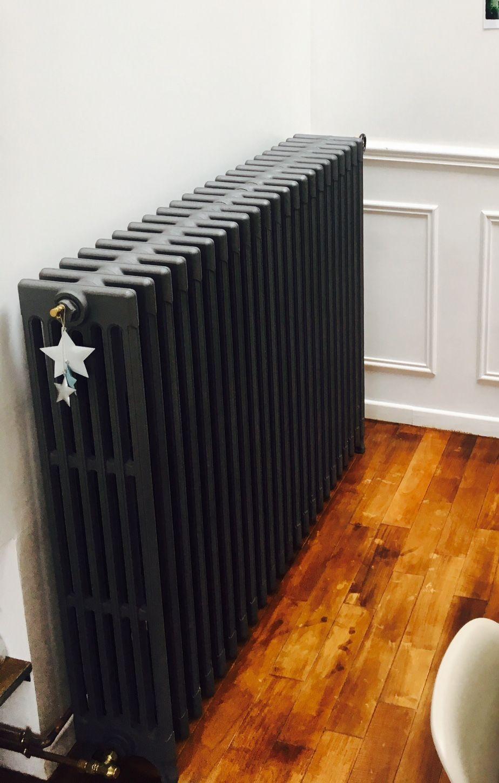 Decoration peinture radiateur
