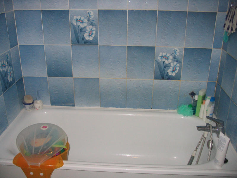 Peinture carrelage cuisine et salle de bain