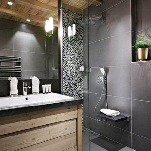 Peinture ou carrelage dans la salle de bain - Salle de bain peinture ou carrelage ...