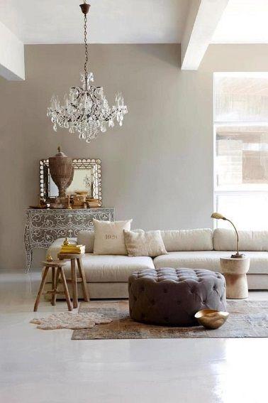 Peinture maison beige