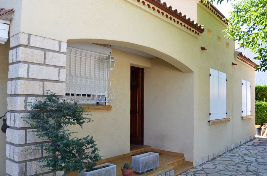 Decoration peinture extérieure maison