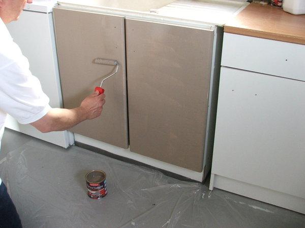 Peindre un meuble de cuisine ikea