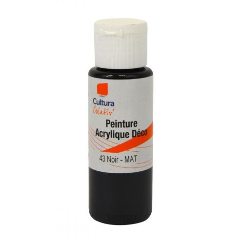 Peinture acrylique marron
