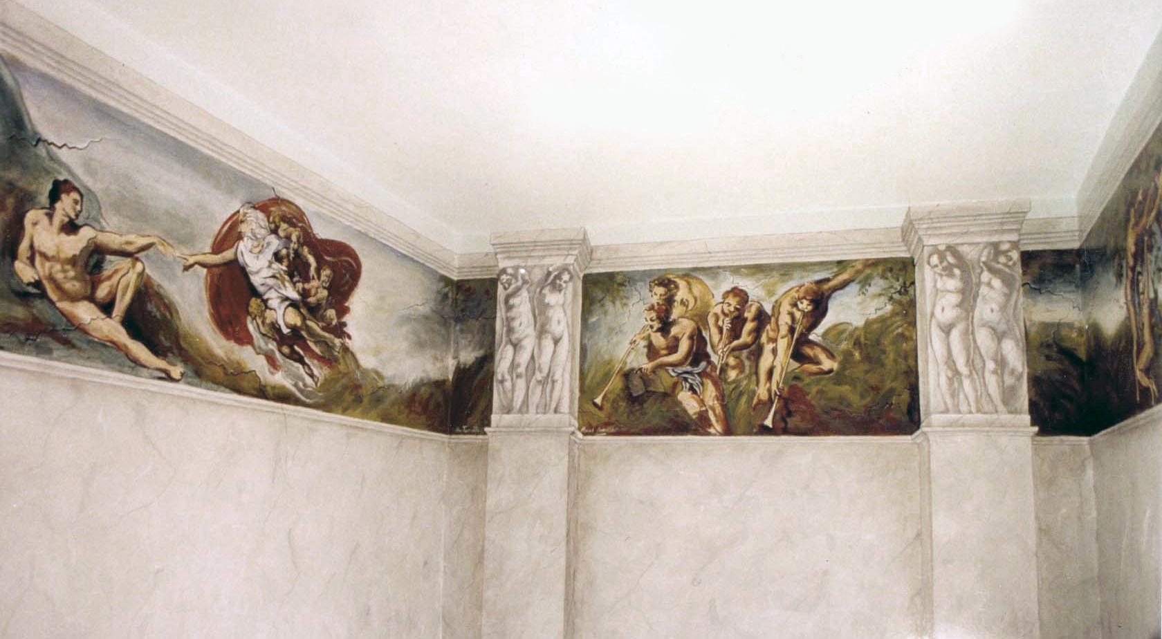 Peinture décoration fresque