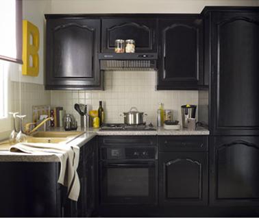 Peindre armoire cuisine bois
