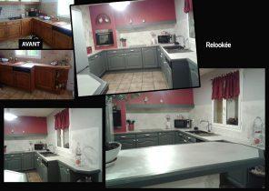 Peinture v33 renovation cuisine bricorama