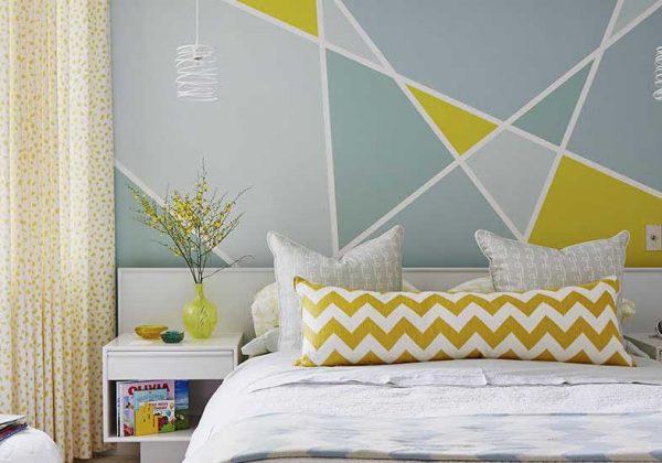 Decoration peinture geometrique