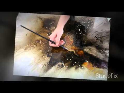 Technique peinture acrylique youtube