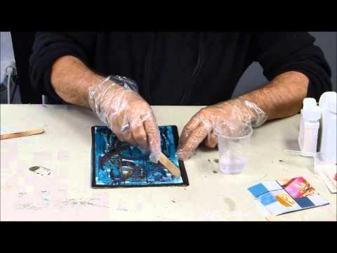 Astuce peinture acrylique sur toile