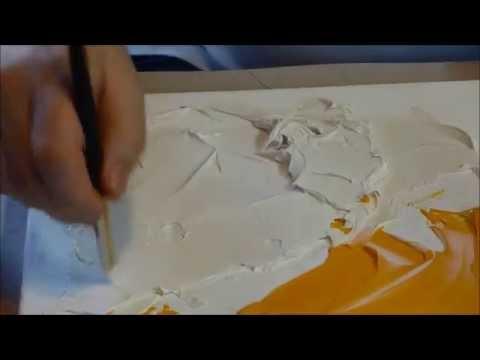 Comment faire de la peinture acrylique sur toile