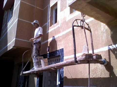 Peinture maison exterieur maroc