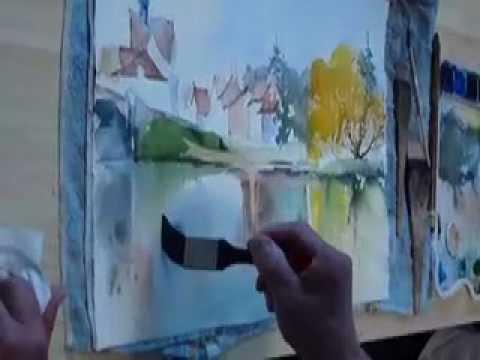 Peinture acrylique ou eau