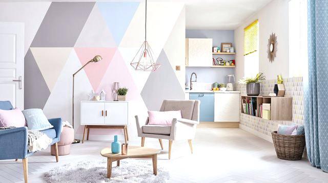 Deco peinture maison moderne