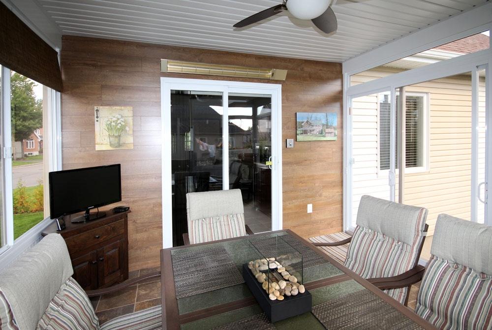 Deco peinture veranda