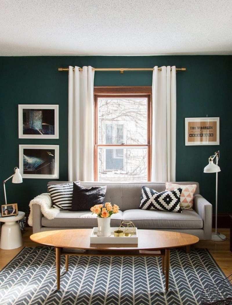 Decoration peinture verte