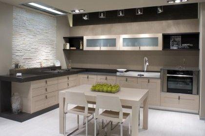 Deco peinture cuisine ouverte sur salon