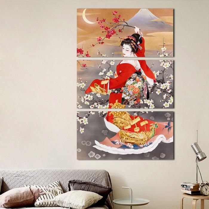 Decoration peinture japonaise