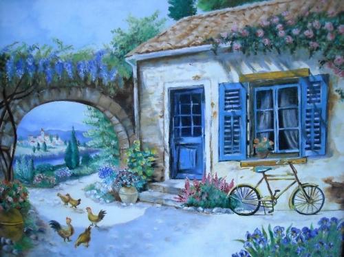 Peinture maison provencale