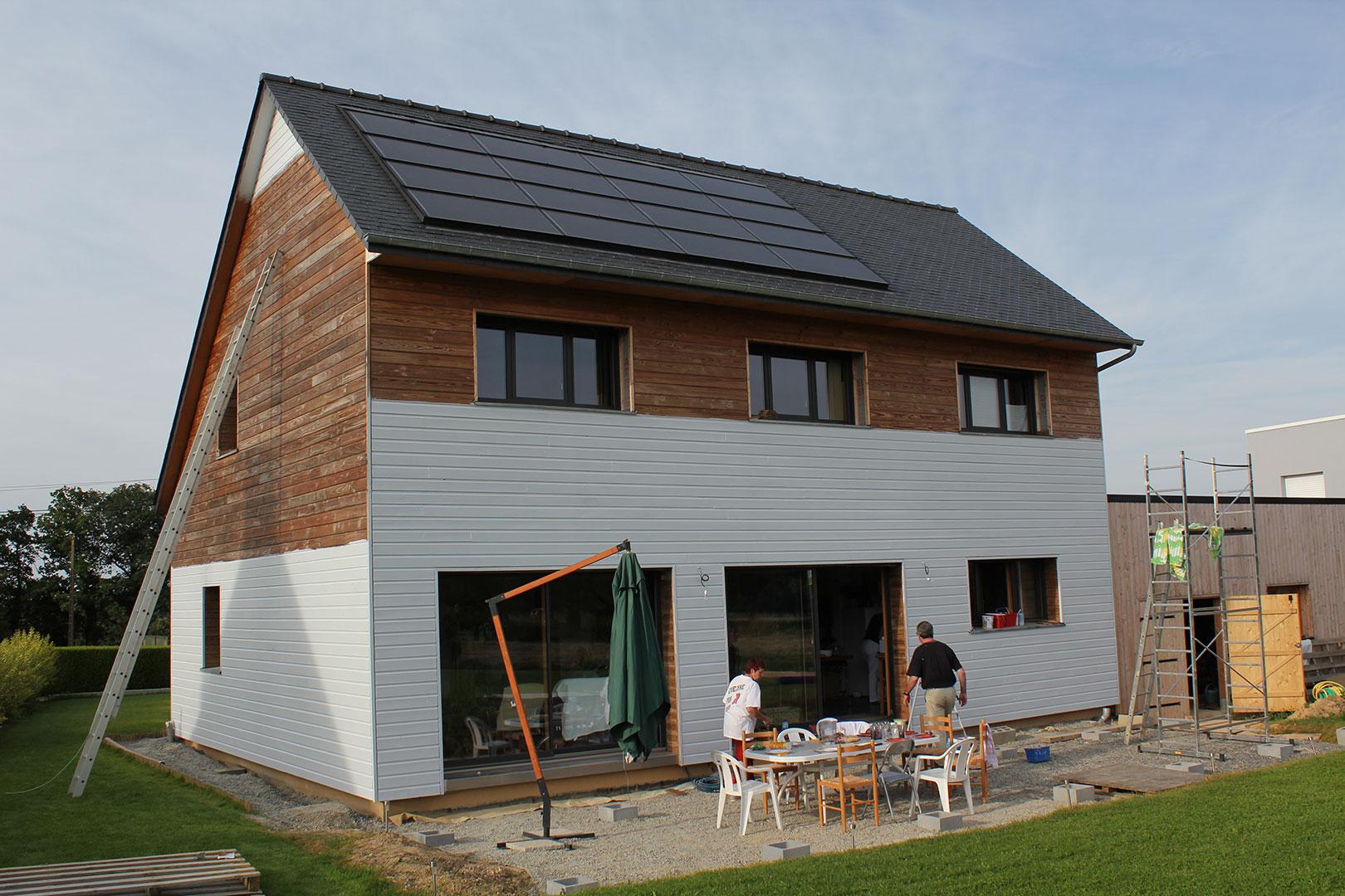 Devis peinture extérieure maison bois