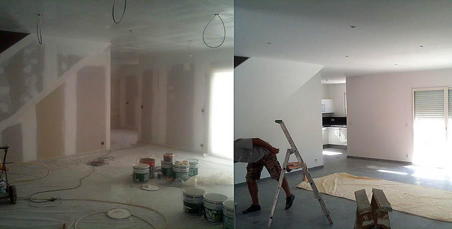Peinture maison qualité