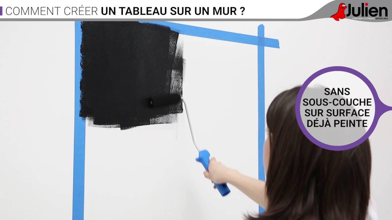 Peinture acrylique julien