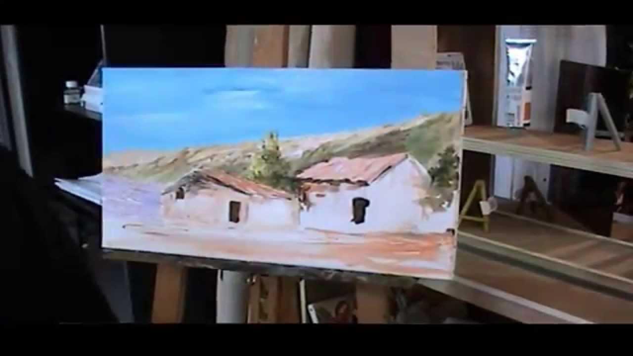 Débuter la peinture acrylique sur toile