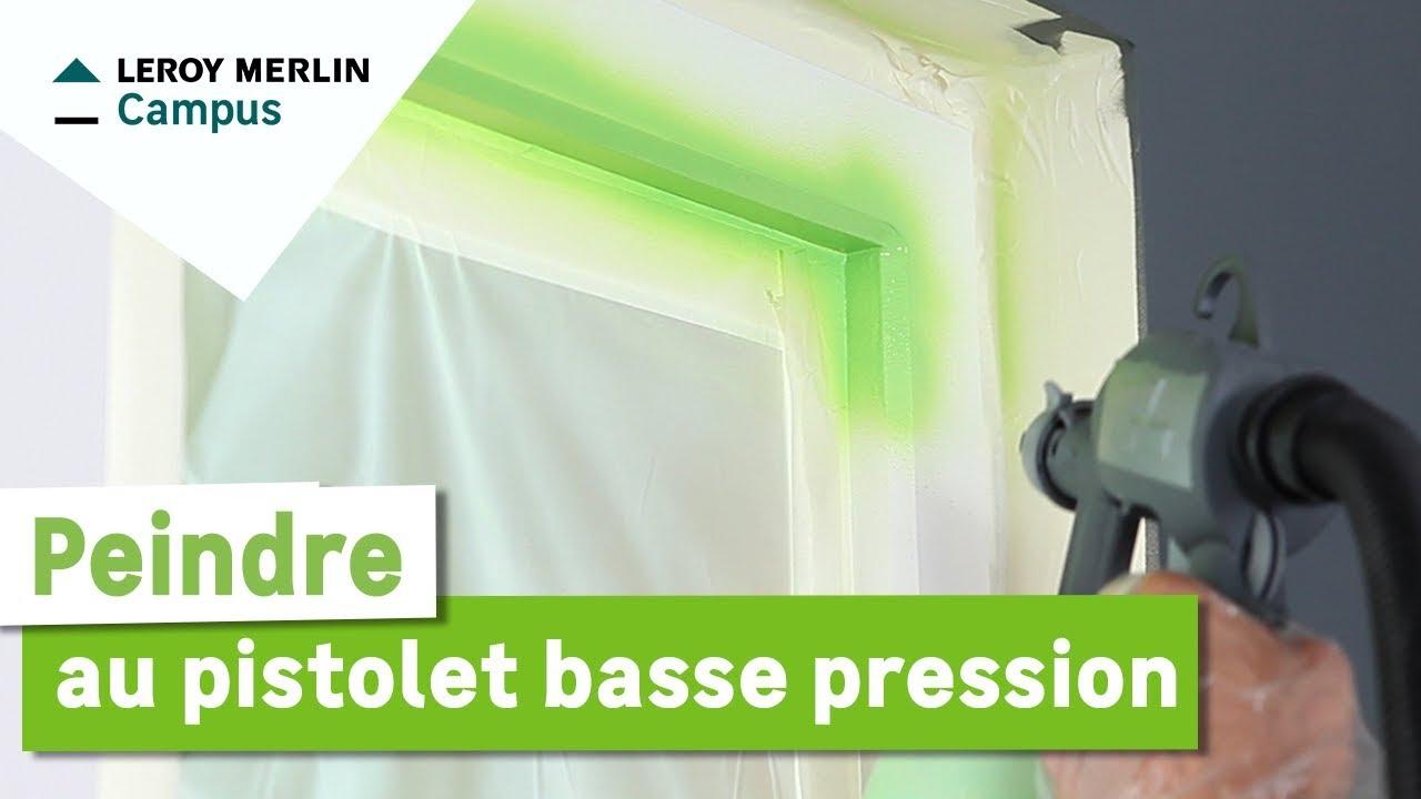 Peindre maison pistolet basse pression