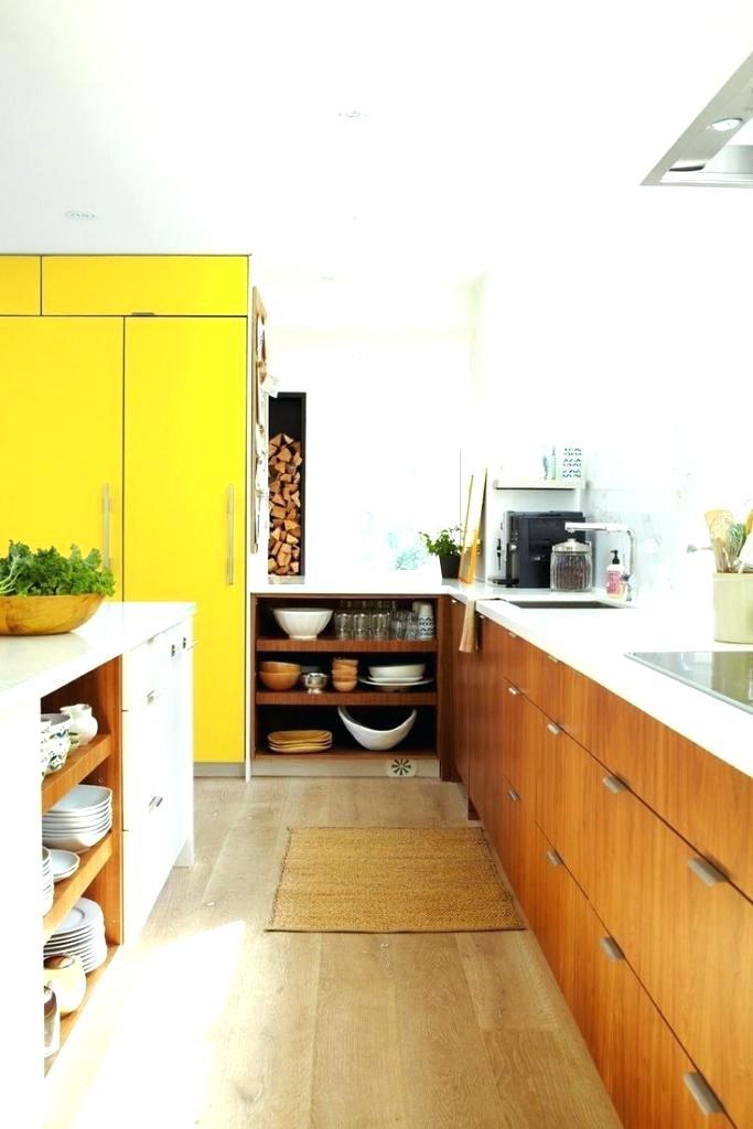 Peinture meuble cuisine jaune