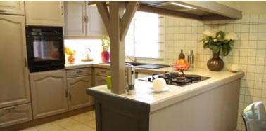Peinture renovation meuble cuisine syntilor