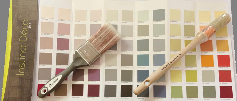 Nuancier peinture decoration