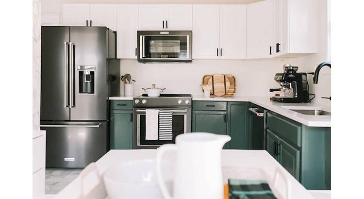 Repeindre sa cuisine en vert